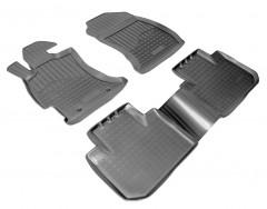 Коврики в салон для Subaru Forester '13-18 полиуретановые (Nor-Plast)