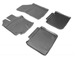 Коврики в салон для Toyota Venza '13-16 полиуретановые (Nor-Plast)