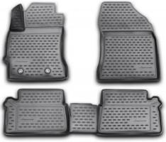 Коврики в салон 3D для Toyota Auris '13- полиуретановые (Novline / Element)