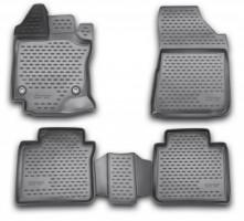 Коврики в салон для Toyota Venza '13-16 полиуретановые (Novline / Element) 3D