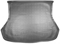 Коврик в багажник для Kia Cerato '13-17 седан, полиуретановый (NorPlast) черный
