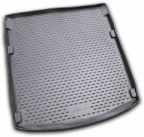 Коврик в багажник для Audi A4 '00-08 седан, полиуретановый (Novline / Element) черный
