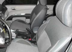 Авточехлы Premium для салона Mitsubishi L200 '13-15 серая строчка (MW Brothers)