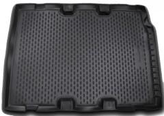 Коврик в багажник для Land Rover Defender 90 '07-, полиуретановый (Novline / Element) черный