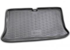 Коврик в багажник для Nissan Micra '03-10, полиуретановый (Novline / Element) черный CARNIS00004