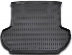 Коврик в багажник для Peugeot 4007 '07-12, полиуретановый (Novline / Element) черный