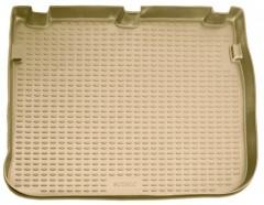 Коврик в багажник для Renault Scenic '03-08, полиуретановый (Novline / Element) бежевый