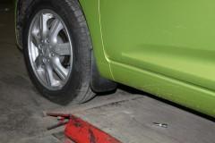 Брызговики передние для Chevrolet Spark '10- (Novline / Element)