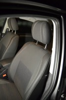 Авточехлы Premium для салона MG 350 '11- серая строчка (MW Brothers)