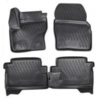 Коврики в салон для Ford Kuga '13- полиуретановые, черные (Novline / Element) Cartecs, 3D