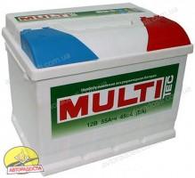 Автомобильный аккумулятор MULTI 6CT-66 Аз