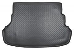 Коврик в багажник для Hyundai Accent (Solaris) '11-17 седан, полиуретановый (NorPlast) черный