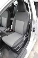 Авточехлы Premium для салона Hyundai i30 FL '13-16 универсал, серая строчка (MW Brothers)