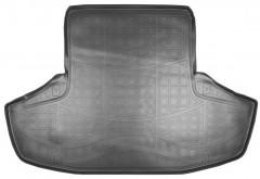 Коврик в багажник для Lexus GS '12-, полиуретановый (NorPlast) черный
