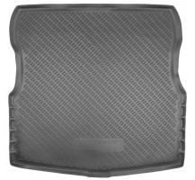Коврик в багажник для Nissan Almera '13-, полиуретановый (NorPlast) черный