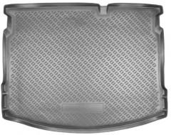 Коврик в багажник для Nissan Qashqai '08-14, полиуретановый (NorPlast) черный