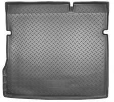 Коврик в багажник для Renault Duster '10-18 (2WD), полиуретановый (NorPlast) черный