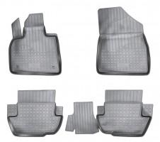 Коврики в салон для Citroen DS5 '12- полиуретановые, черные (Nor-Plast)