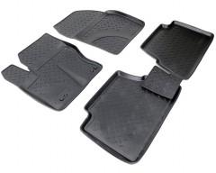 Коврики в салон для Ford C-Max '11- полиуретановые, черные (Nor-Plast)