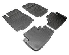 Коврики в салон для Honda CR-V '12- полиуретановые, черные (Nor-Plast)