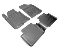 Коврики в салон для Hyundai i30 FL '13-16 полиуретановые, черные (Nor-Plast)