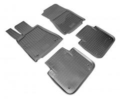 Коврики в салон для Lexus GS 250/350/450h с 2012 RWD полиуретановые, черные (Nor-Plast)