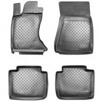 Коврики в салон для Lexus GS '05-12, 4WD полиуретановые, черные (Nor-Plast)