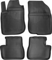Коврики в салон для Peugeot 208 '12- полиуретановые, черные (Nor-Plast)