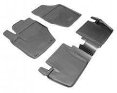 Коврики в салон для Peugeot 408 '12- полиуретановые, черные (Nor-Plast)