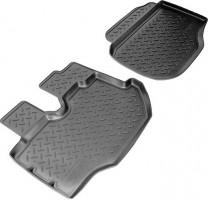 Коврики в салон для Toyota Hiace '04- полиуретановые, черные (Nor-Plast)