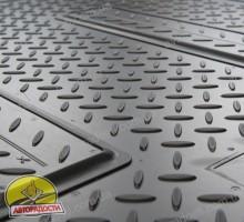 Фото 2 - Коврики в салон для Toyota RAV4 '10-12 полиуретановые, черные (Nor-Plast) передние