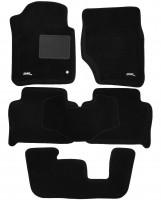 3d Mats Коврики в салон для Audi Q7 '05-14 текстильные 3D, черные (3D Mats)