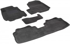 3d Mats Коврики в салон для Honda CR-V '06-12 текстильные 3D, серые (3D Mats)