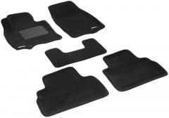 Коврики в салон для Infiniti FX (QX70) '09- текстильные 3D, черные (3D Mats)