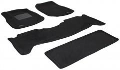 Коврики в салон для Lexus LX 470 '00-07 текстильные 3D, черные (3D Mats)