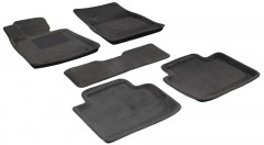 Коврики в салон для Lexus GS '05-12, 2WD текстильные 3D, серые (3D Mats)