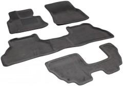 3d Mats Коврики в салон для BMW X5 E70 '07-13 текстильные 3D, серые (3D Mats)