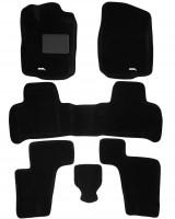 Коврики в салон для Mercedes GL/GLS X166 '12- текстильные 3D, черные (3D Mats)