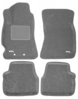 Коврики в салон для Subaru Forester '08-12 текстильные 3D, серые (3D Mats)