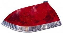 Фонарь задний для Mitsubishi Lancer 9 '04-09 левый (FPS) красно-белый