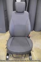Авточехлы Premium для салона Hyundai Santa Fe '13- DM красная строчка (MW Brothers)