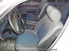 MW Brothers Авточехлы Premium для салона BMW 5 E34 '88-96 красная строчка, с полноценным задним подлокотником MW Brothers