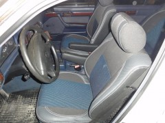 MW Brothers Авточехлы Premium для салона BMW 5 (E34) '88-96 серая строчка, с полноценным задним подлокотником (MW Brothers)