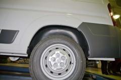 Подкрылок задний левый для Citroen Jumper '06-, без расширителя арок (Novline)