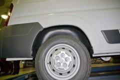 Подкрылок задний правый для Citroen Jumper '06-, без расширителя арок (Novline)