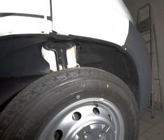 Подкрылок передний левый для Citroen Jumper '06-, без расширителей арок (Novline)