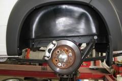 Подкрылок задний левый для Citroen Jumper '06-, с расширителями арок (Novline)