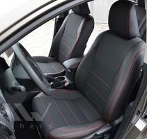 Авточехлы Premium для салона Toyota Corolla 13- красная строчка (MW Brothers)