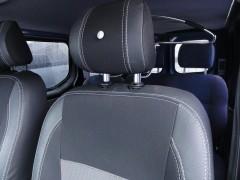 Авточехлы Premium для салона Renault Trafic '01-14 серая строчка (1+2) (MW Brothers)
