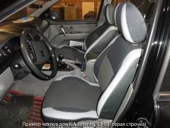 Авточехлы Premium для салона KIA Sorento '03-09 BL красная строчка (MW Brothers)